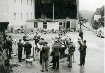 Platzkonzert 1960