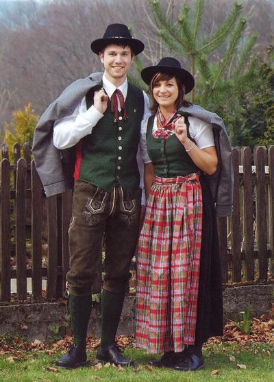 April 2007: Theresa Schwärz und Simon Mangelberger